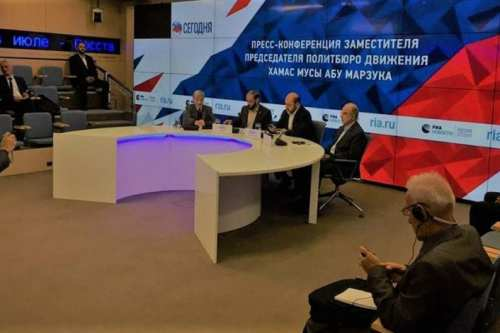 Delegation from Hamas in Moscow, Russia