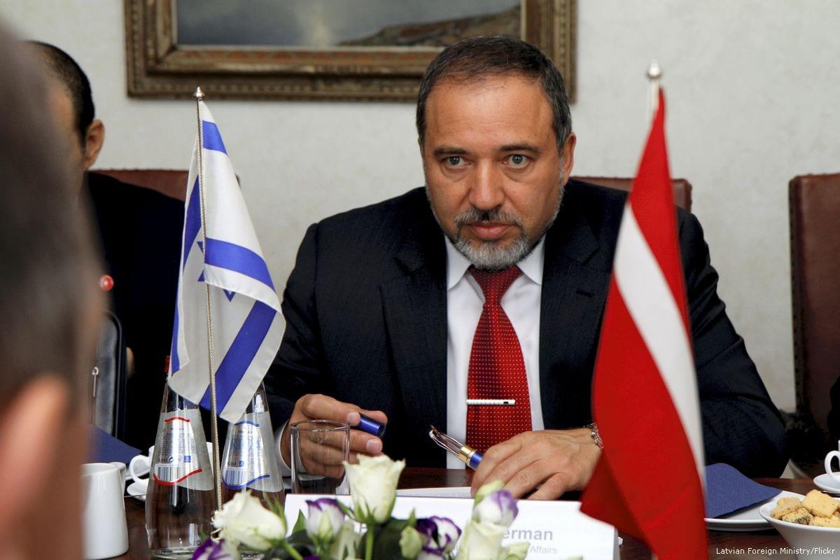 Israel's former defence minister and head of the right-wing Yisrael Beiteinu party Avigdor Lieberman [Latvian Foreign Ministry/Flickr]