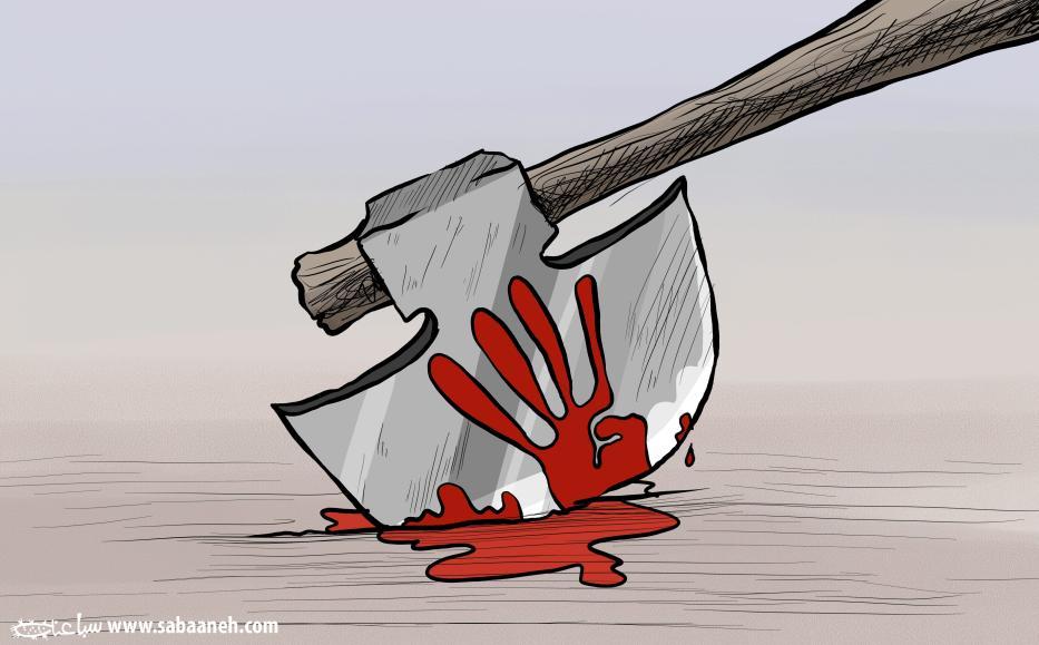 Rabaa Massacre - Cartoon [Sabaaneh/MiddleEastMonitor]