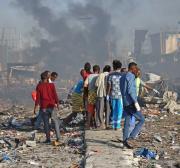 Injured victims of Somalia blast arrive in Sudan