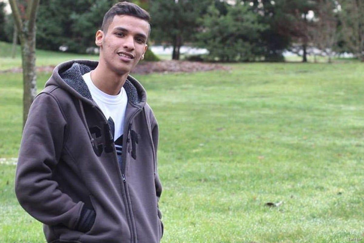 Thamer Hameed Almestadi, 19 years-old Saudi student [Twitter]