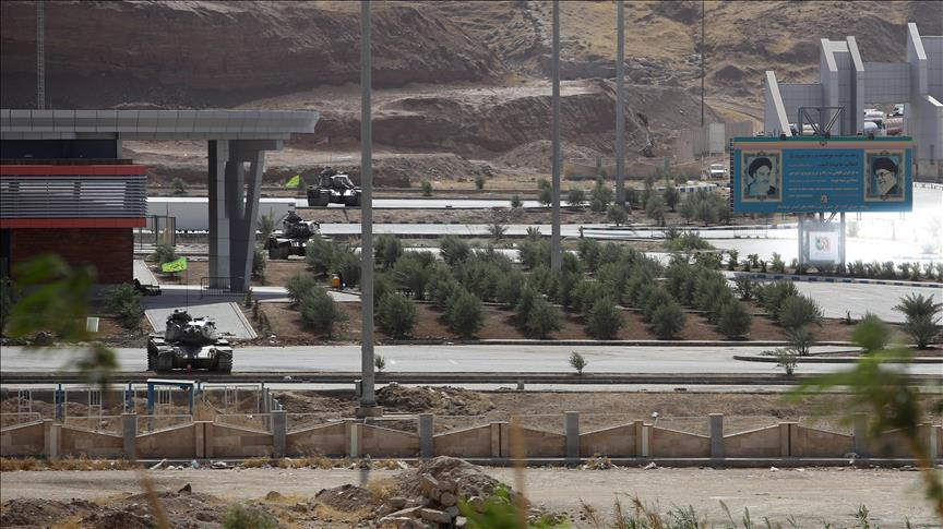 Iran blocks border crossings with Iraq's Kurdish region