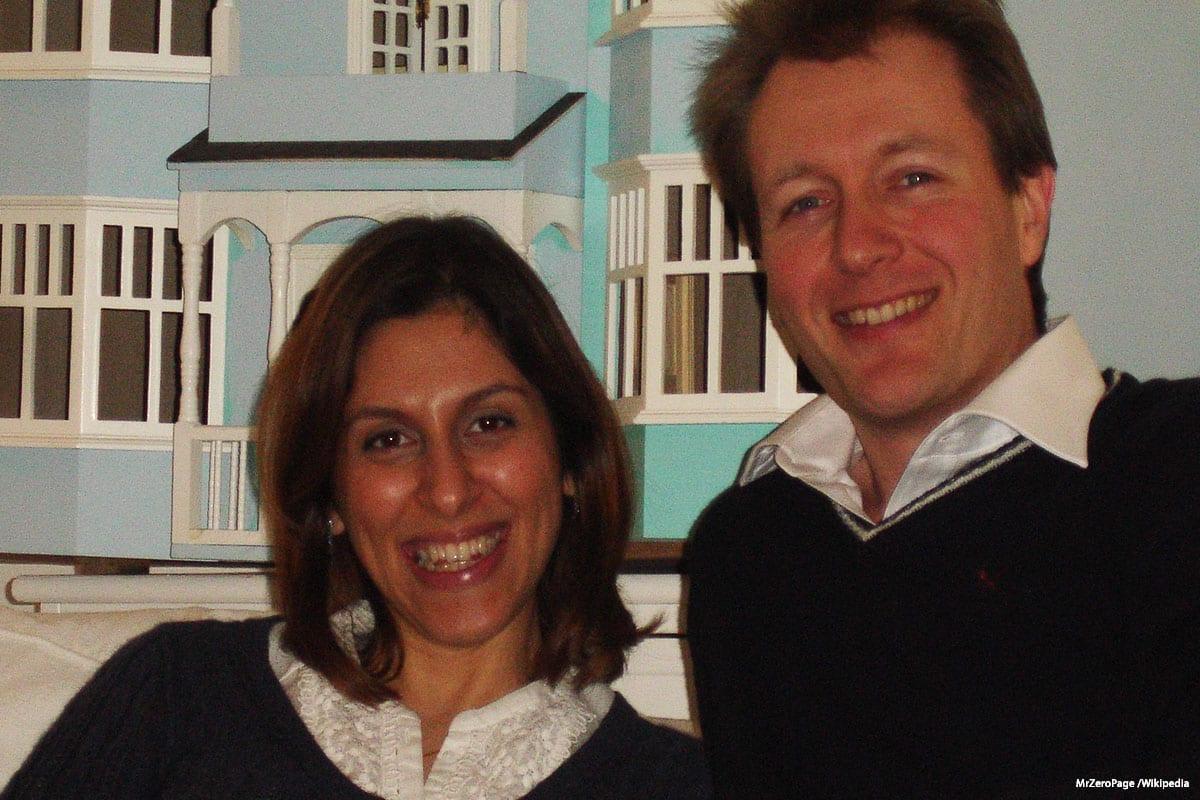 Nazanin Zaghari-Ratcliffe and her husband, Richard Ratcliffe on 1 January 2011 [MrZeroPage /Wikipedia]