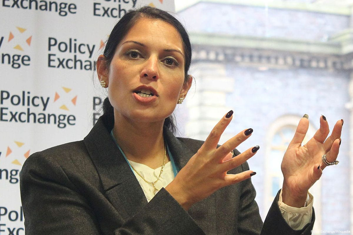 Newly appointed UK Home Secretary Priti Patel [Policy Exchange/Wikipedia]