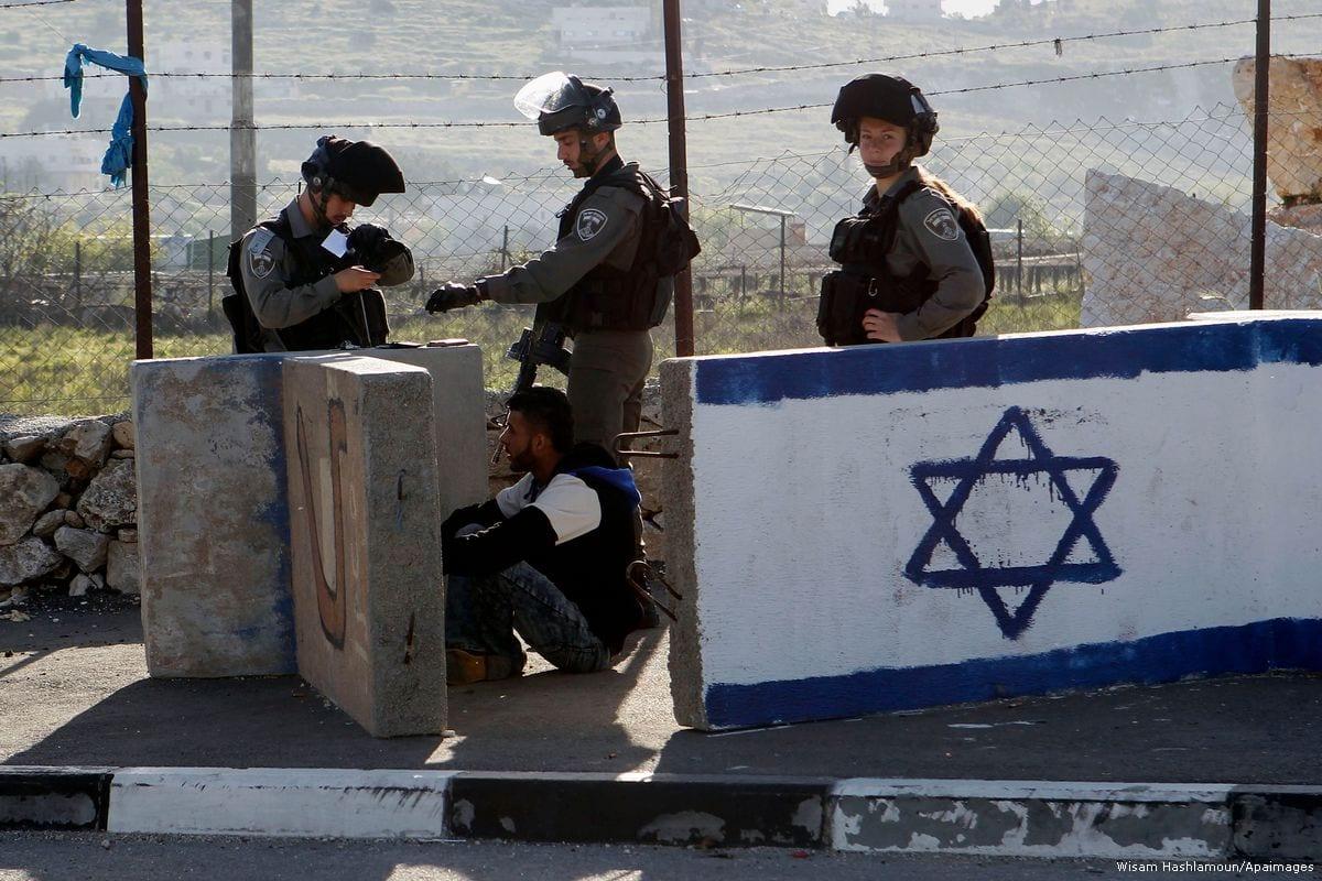 Israeli occupation forces [Wisam Hashlamoun/Apaimages]