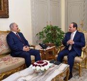 Libyan army accuses Egypt of arming Haftar