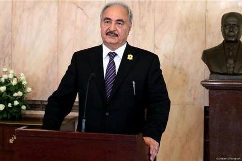 Commander of the Libyan national army and Field Marshal Khalifa Haftar [Gambiatv2/Facebook]