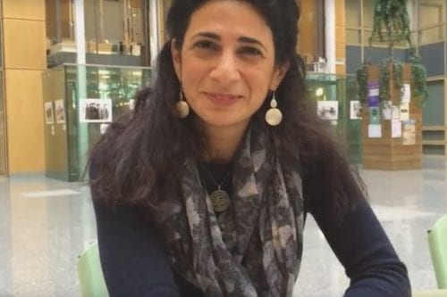 SOAS academic Ruba Salih. [Power2Youth/YouTube]