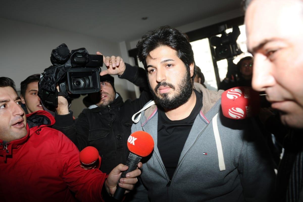 Iran-born Turkish gold trader Reza Zarrab seen in Istanbul on 17 December 2013 [Ozan Kose/AFP]