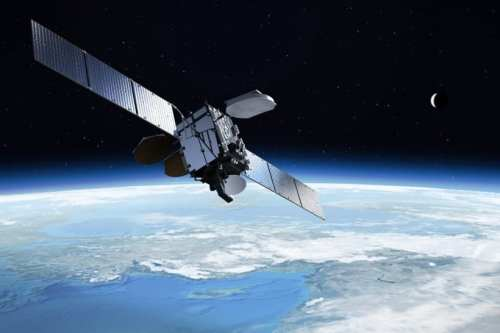A digital rendition of Turksat 4A, launched into orbit on February 10, 2014