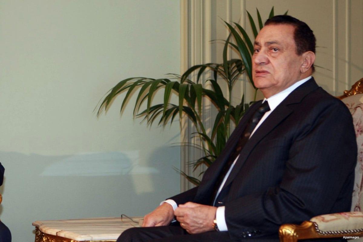 Ousted Egyptian President, Hosni Mubarak [Apaimages]