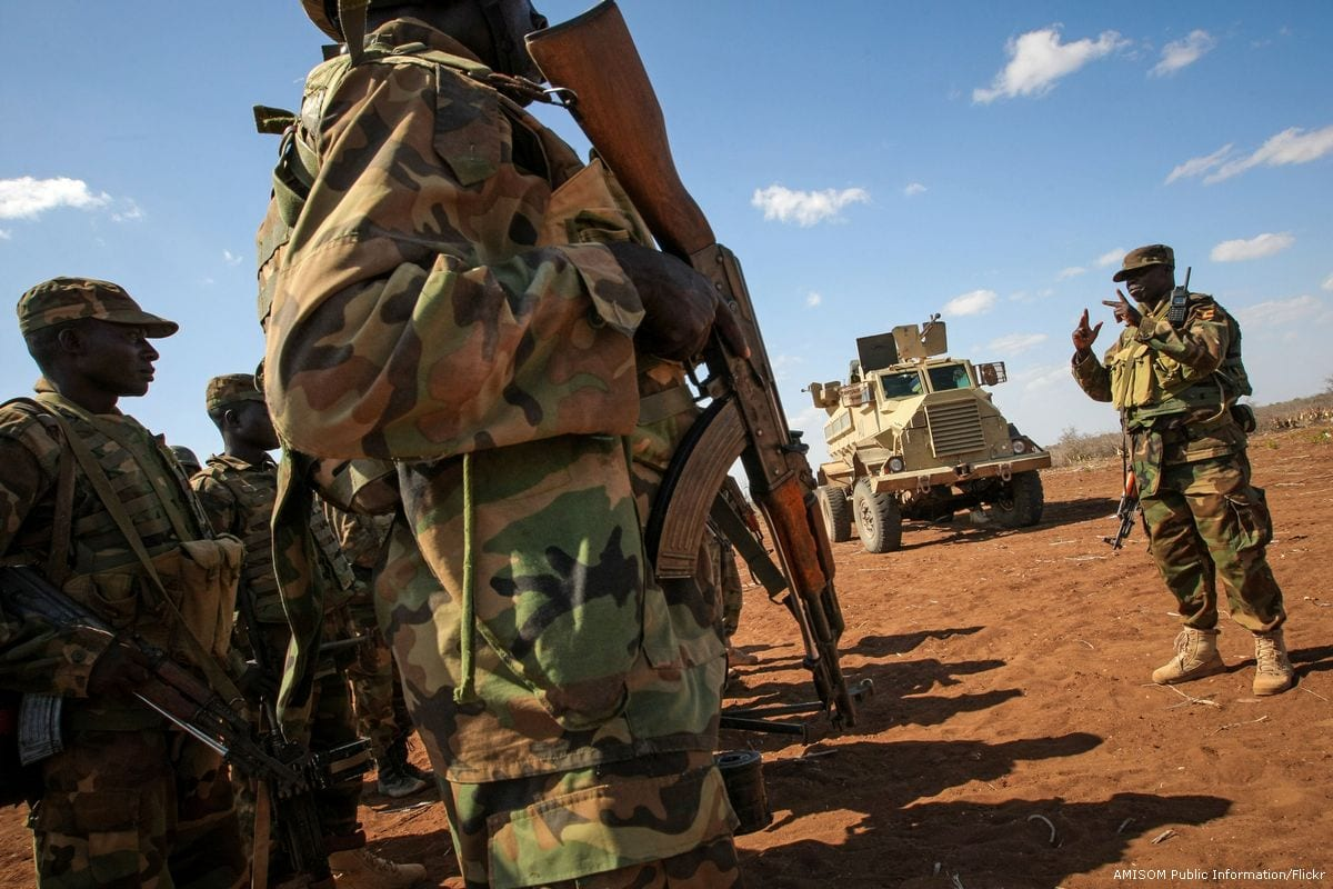Ugandan troops serving with the African Union Mission in Somalia (AMISOM) [AMISOM Public Information/Flickr]