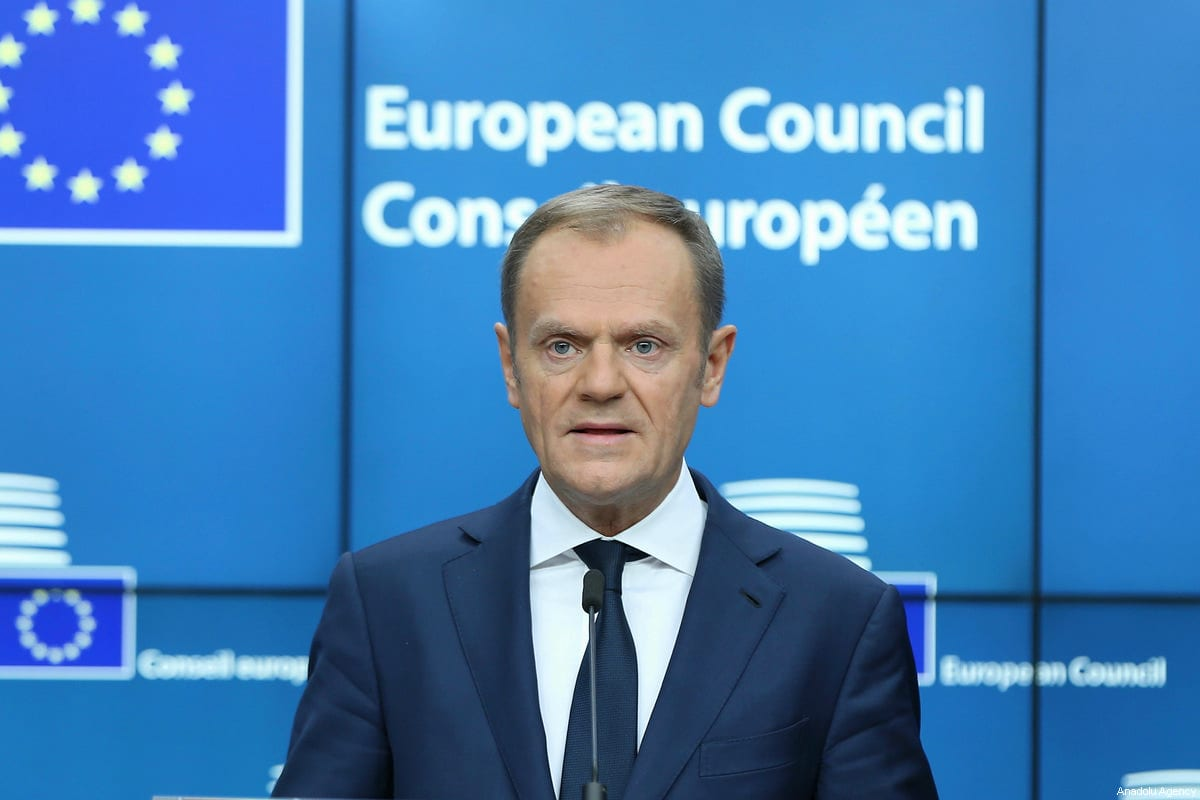 EU's Tusk says with friends like Trump, who needs enemies?