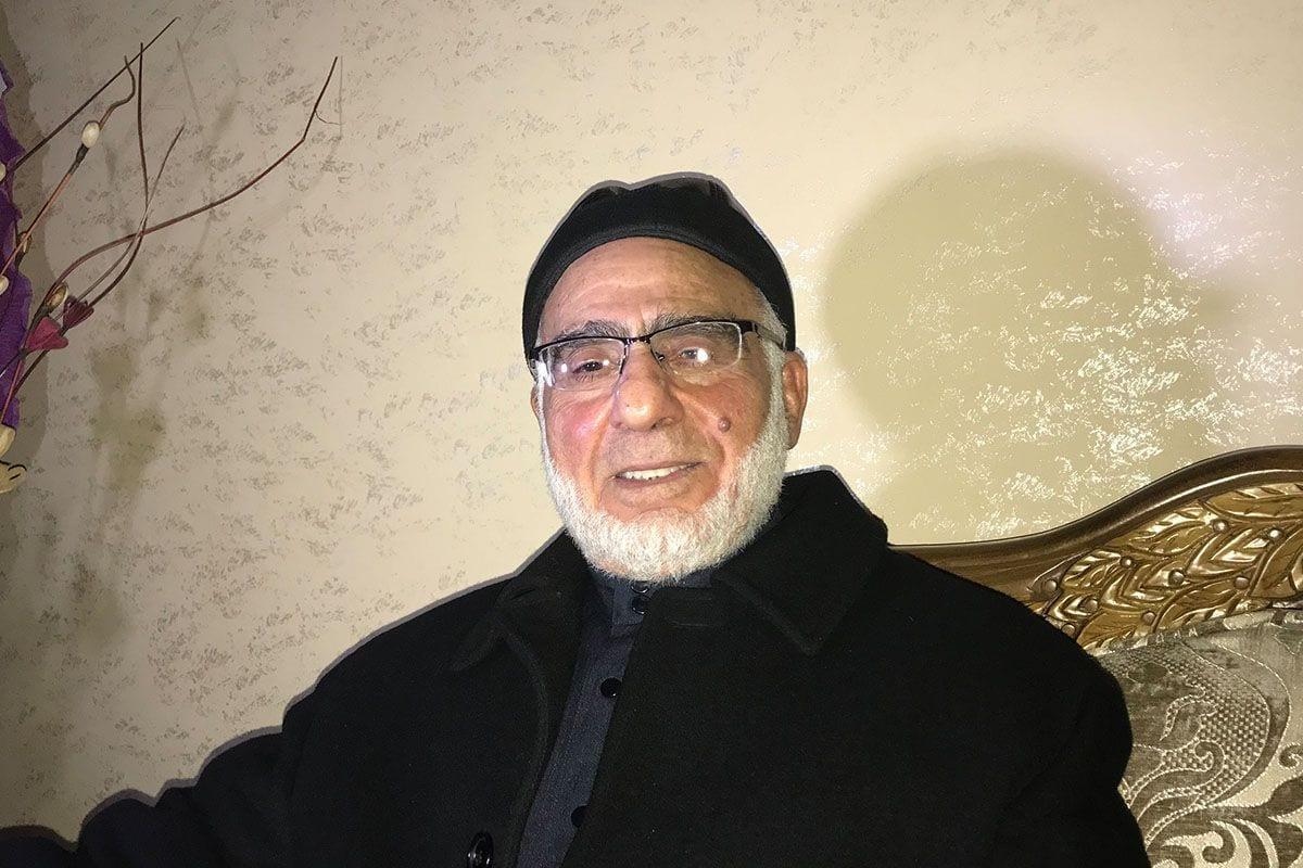 Dr Ibrahim Fares Al-Yazouri, a founder of Hamas [Motasem A Dalloul]