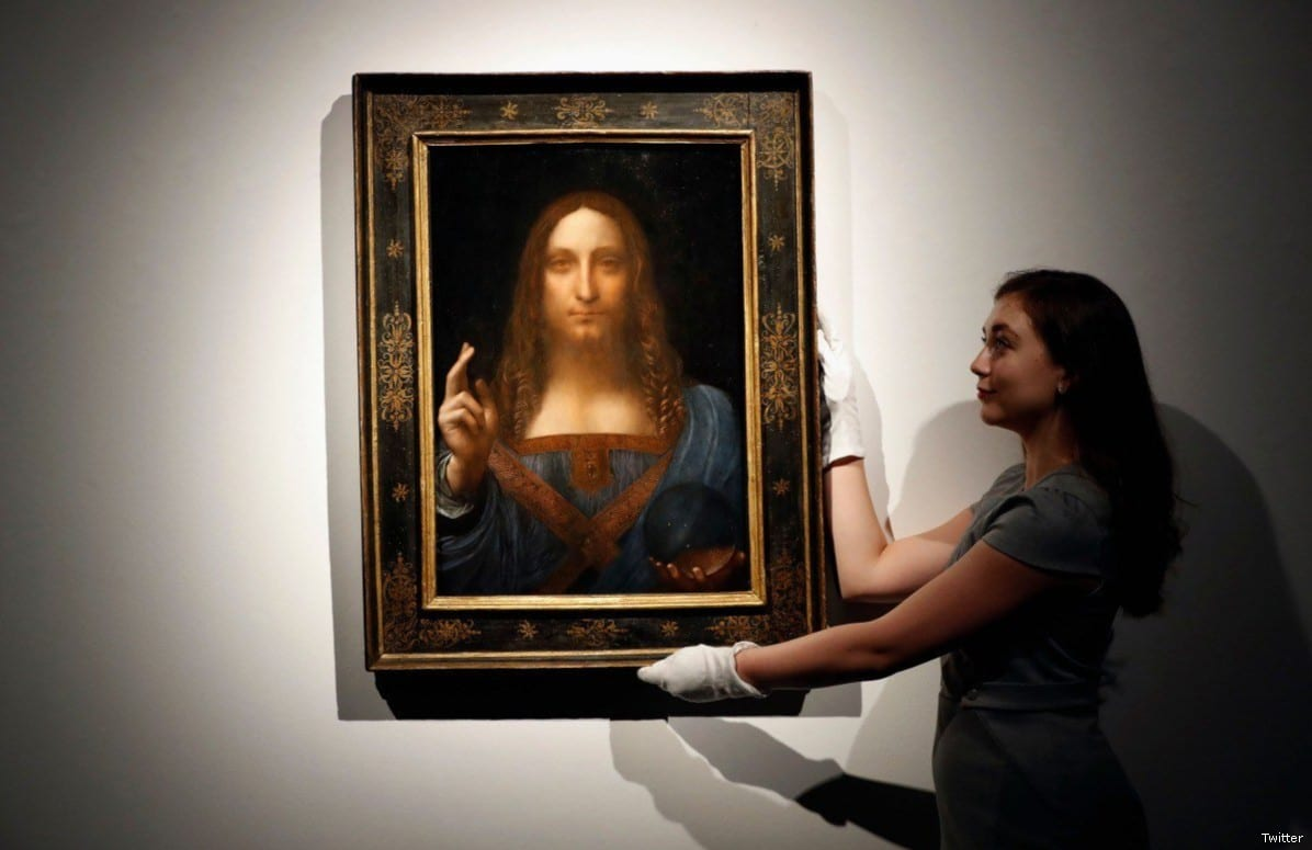 Christ As Salvator Mundi >> Saudi Crown Prince splashed $0.5bn on Jesus painting – Middle East Monitor