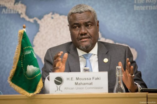 Chairperson of the AU Commission, Moussa Faki [Chatham House/Flickr