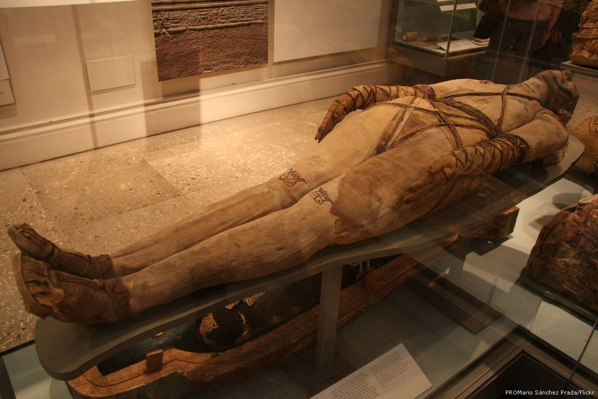 An Egyptian mummy [PROMario Sánchez Prada/Flickr]