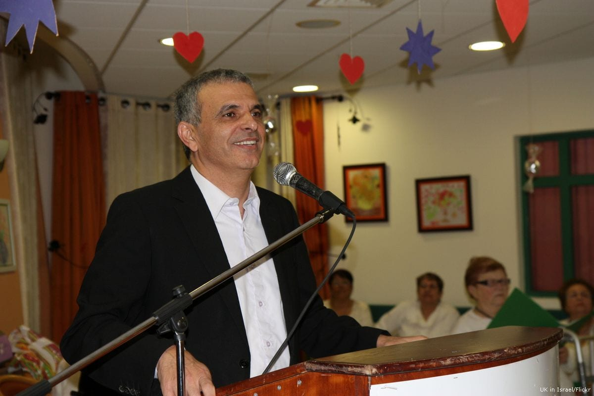Israeli Finance Minister Moshe Kahlon [UK in Israel/Flickr]