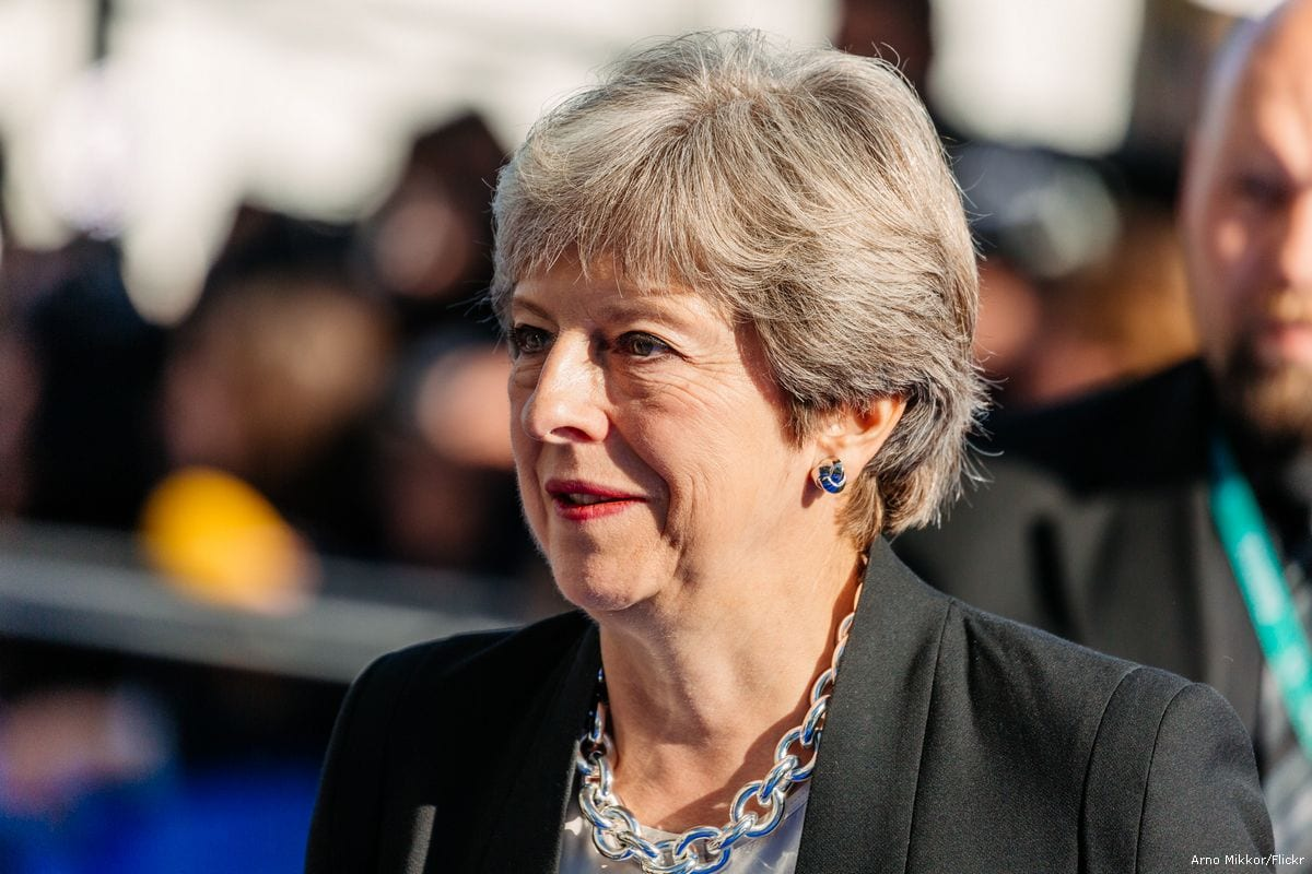 British Prime Minister Theresa May [Arno Mikkor/Flickr]