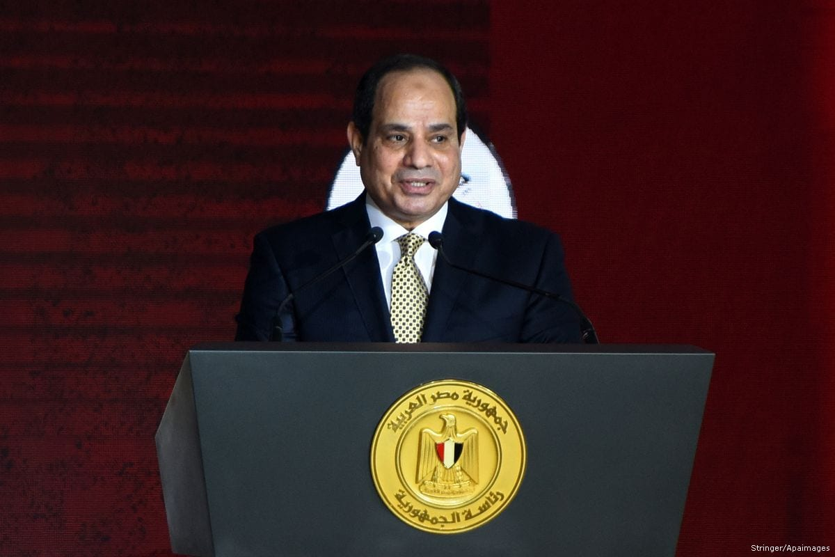 Saudi crown prince meets Egypt's Sisi on first public trip ...
