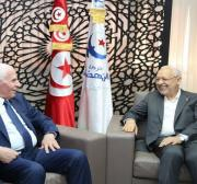 Fatah requests Ghannouchi mediation to accelerate the implementation of the reconciliation agreement with Hamas