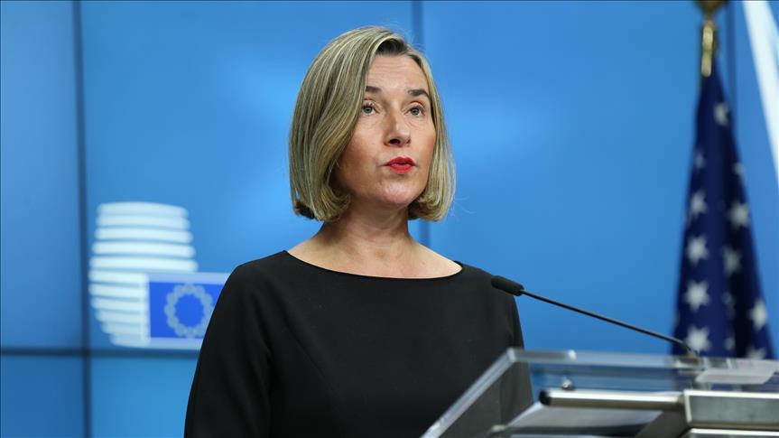 High Representative of European Union for Foreign Affairs and Security Policy and Vice President of the European Council Federica Mogherini