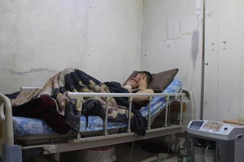 Assad regime attacks E.Ghouta with chlorine gas, reports