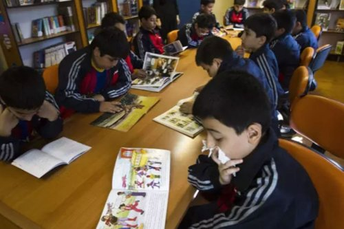 School pupils in Iran [Reuters]