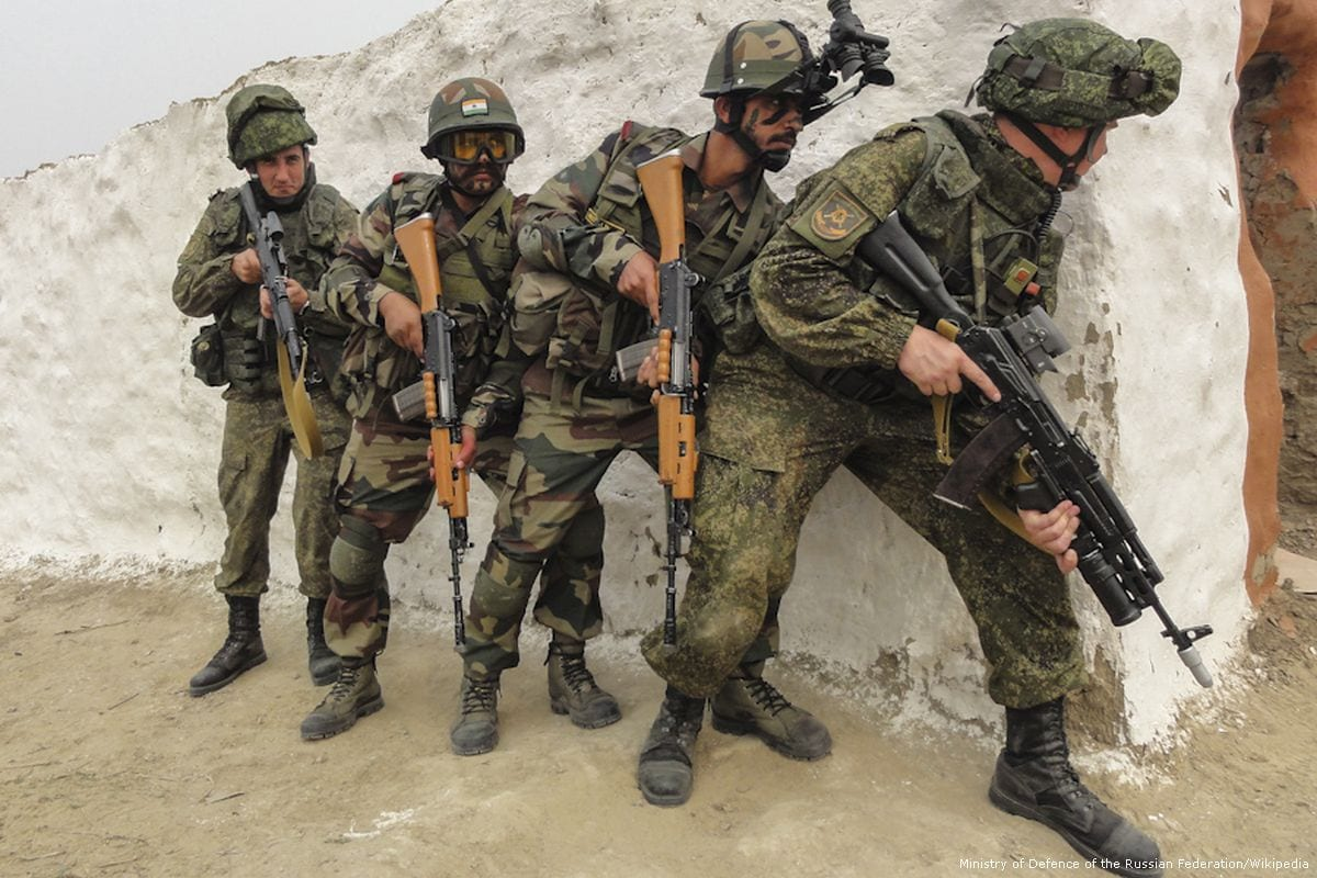 Russian soldiers [Ministry of Defence of the Russian Federation/Wikipedia]