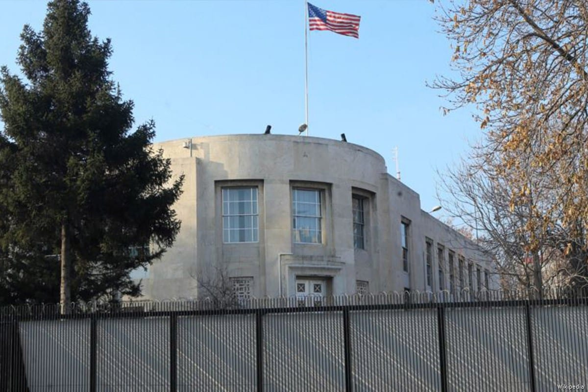 The US Embassy in Ankara, Turkey [Wikipedia]