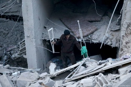 Assad regime continues hit in Eastern Ghouta
