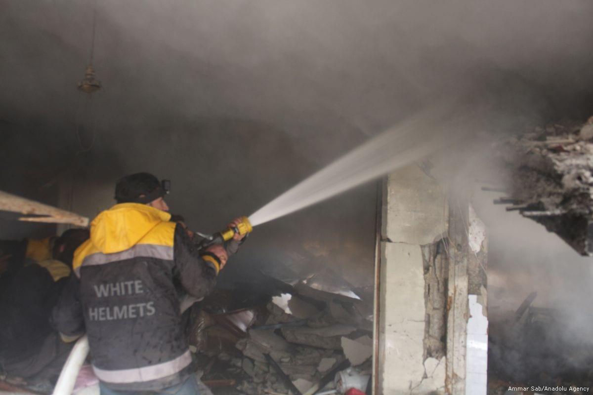 Syria regime strikes kill six civilians in Ghouta