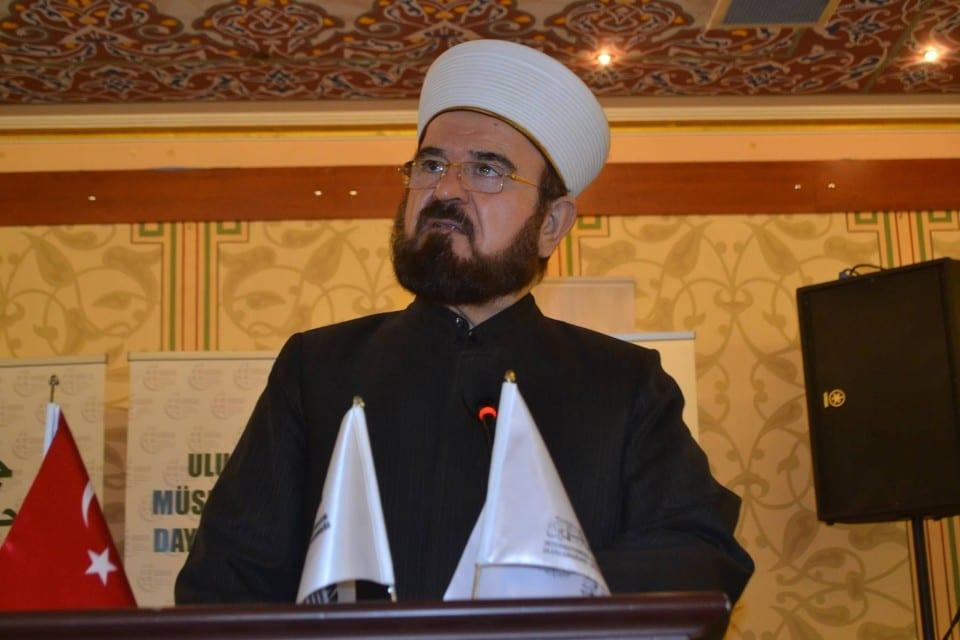 International Union of Muslim Scholars (IUMS) Secretary General Ali Al-Qaradaghi