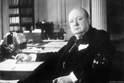 Winston Churchill, former UK Prime Minister
