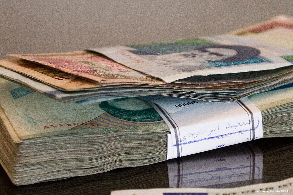 Expansion of protests in Iran following currency recession