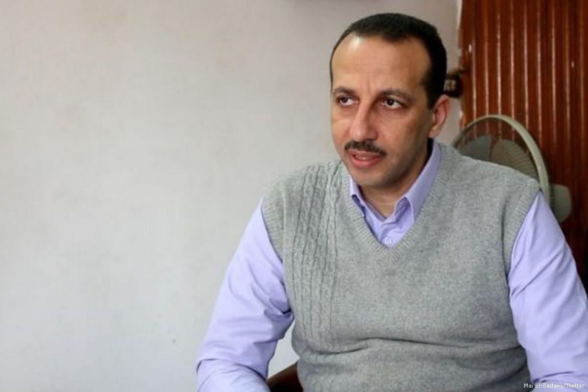 Egyptian human rights lawyer, Ezzat Ghoneim [Mai El-Sadany/Twitter]