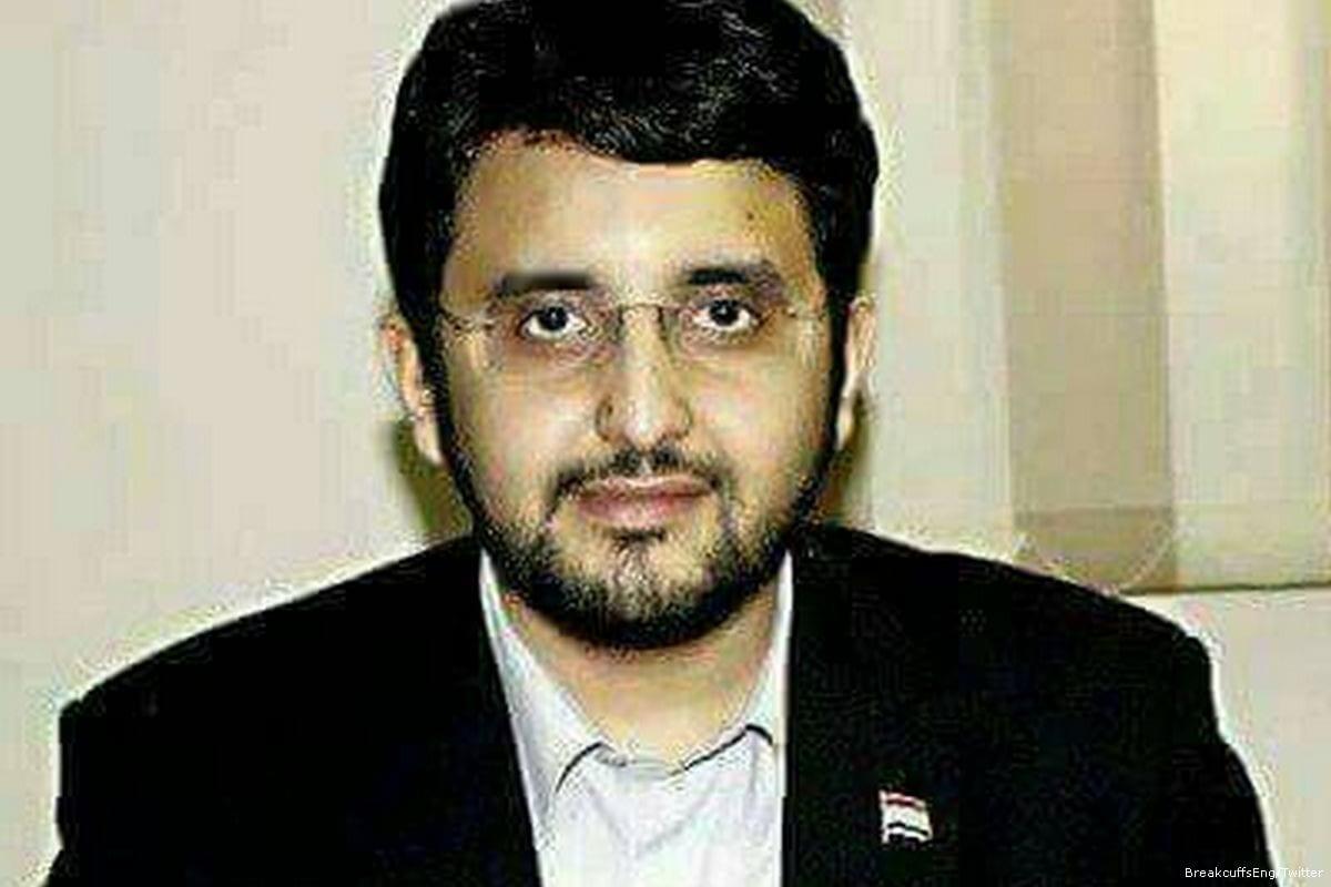 Jihad Al-Haddad, former spokesman for the Muslim Brotherhood in Egypt [BreakcuffsEng/Twitter]