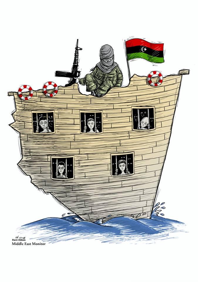 Libya: 55 irregular migrants caught in Mediterranean