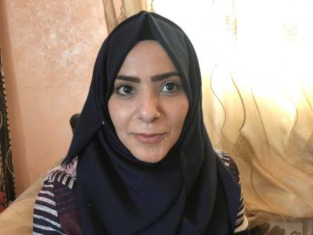 Niveen Malik, 26, unemployed university graduate [Motasem A Dalloul/Middle East Monitor]