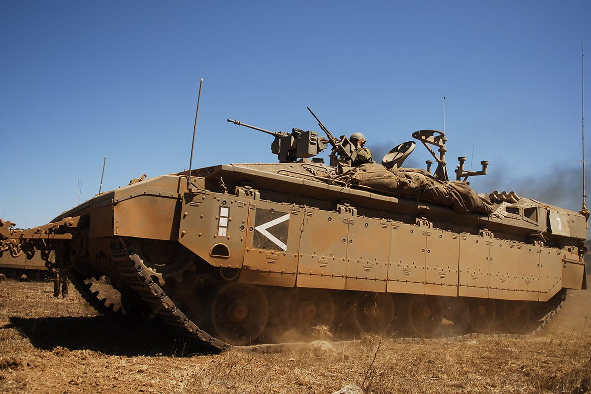 Israeli army take part in military drill exercises [FlickR]