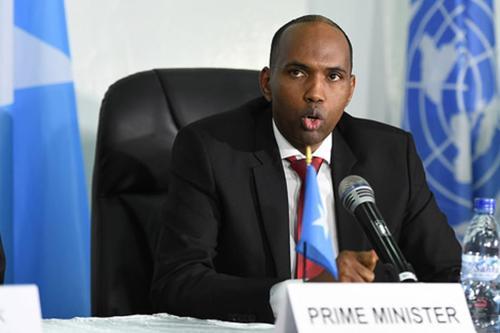 Hassan Ali, Somalia's prime minister [FlickR]
