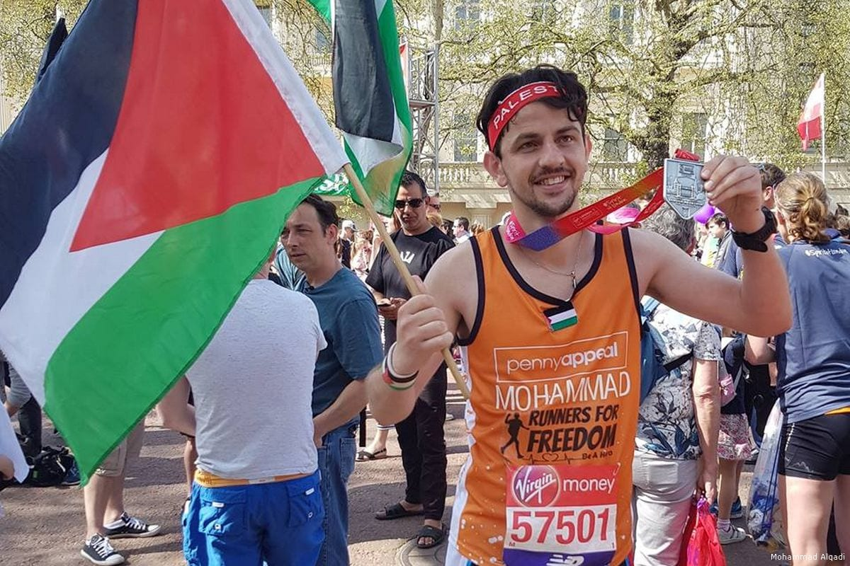 Palestine Runners Cross The Finish Line At 2018 London Marathon