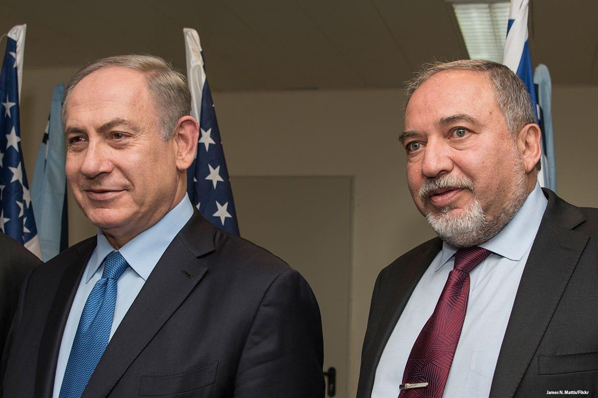 Israeli Prime Minister Benjamin Netanyahu and Israeli Defence Minister Avigdor Lieberman [James N. Mattis/Flickr]