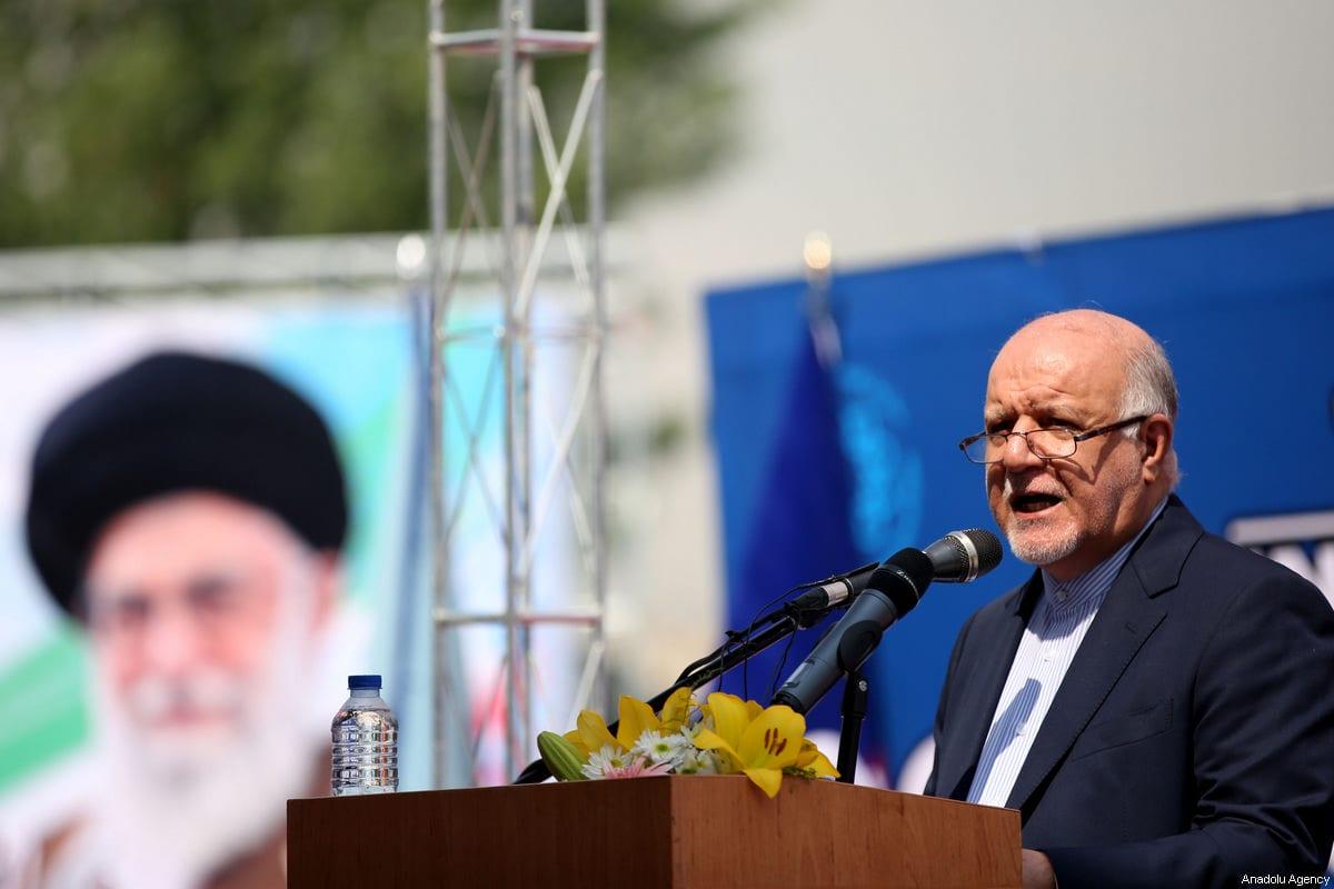 Iran's Minister of Petroleum, Bijan Namdar Zangeneh in Tehran, Iran on 6 May 2018 [Fatemeh Bahrami/Anadolu Agency]