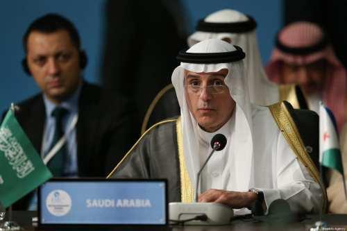 Minister of Foreign Affairs of Saudi Arabia Adel al-Jubeir in Istanbul, Turkey on 18 May 2018 [Arif Hüdaverdi Yaman/Anadolu Agency]