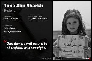 3- Dima Abu Sharkh, Gaza