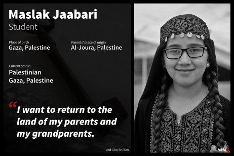 3- Maslak Jaabari, Gaza