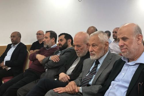 Guests attended an event held by the Palestinian Forum in Britain (PFB) which focused on the suffering of the people of Iraq, Syria, Palestine, Yemen and Libya [Middle East Monitor]