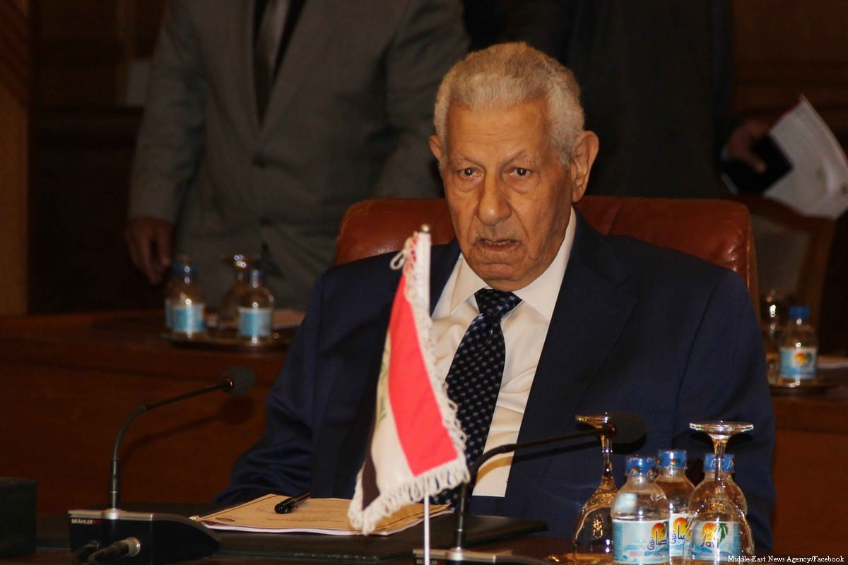 head of the Supreme Council of Media Regulation in Egypt, Makram Mohamed Ahmed [Middle East News Agency/Facebook]
