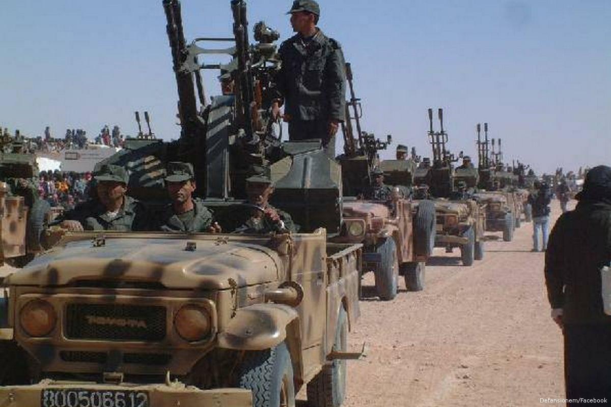 Polisario troops in Western Sahara [Defensionem/Facebook]